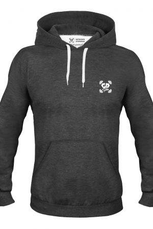 Get Down Logo Hoodie Deep Heather
