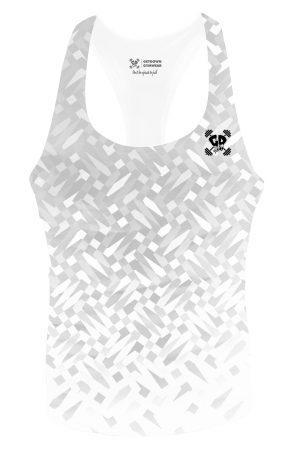 ice mosaic stringer vest
