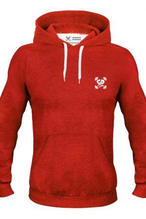 Get Down Logo Hoodie Red