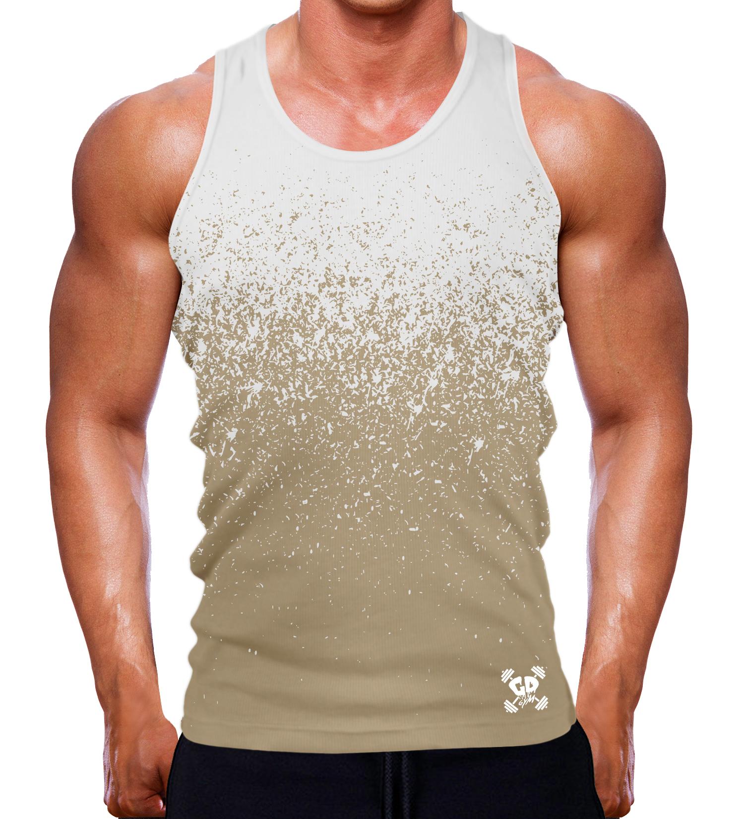 White Sand Gradient Speckle Tank