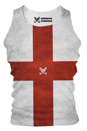 England Flag Tank Vest