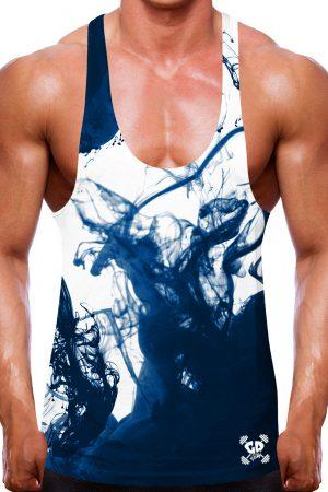 Navy Vape Stringer Vest